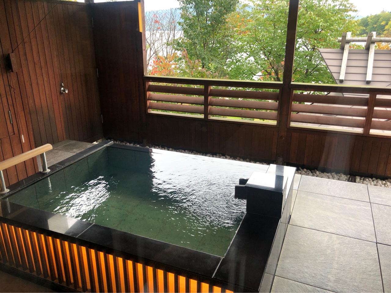 霞の座露天風呂